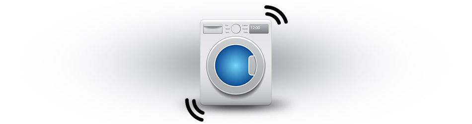 Washing machine bounces around