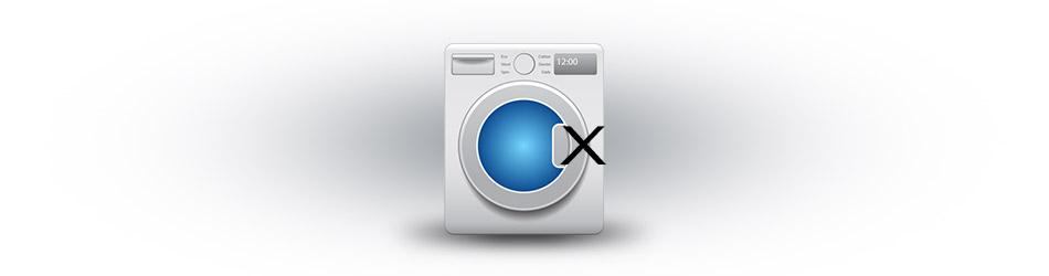 Washing machine door won't open