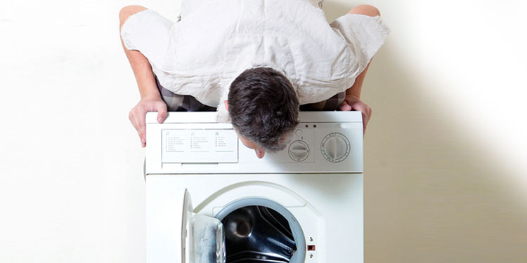 Jumping washing machine